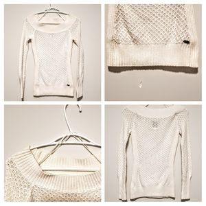 Guess | white knitted sweater